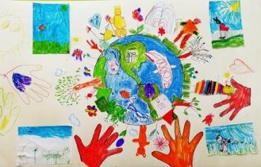 "Децата от ДГ ""Буратино"" в Пловдив спечелиха конкурс за рисунка"