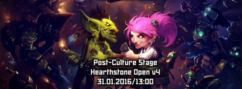 Hearthstone - Post-Culture Stage Open Jan 2016