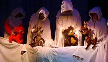 Бяла приказка в Кукления театър
