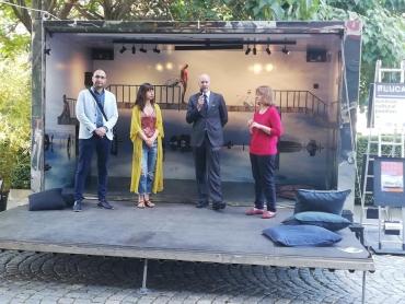 Летният сезон на FLUCA започна с изложба на австрийския творец Флориан Ланг
