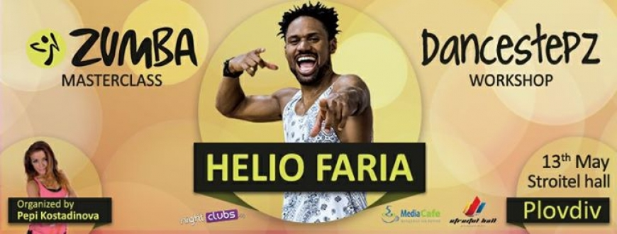 Zumba Masterclass and DancestepZ workshop with Helio Faria