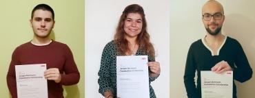 Трима студенти от Техническия университет спечелиха престижната стипендия