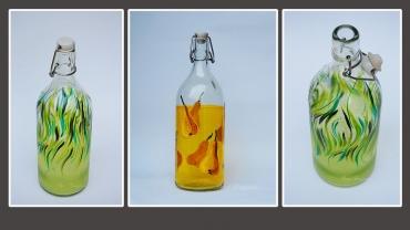 Нарисувай си стъклена бутилка